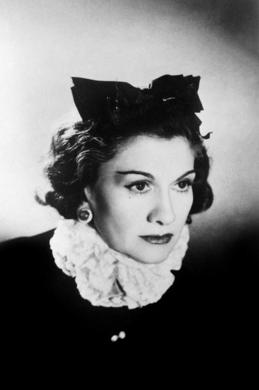 Chanel aged 60 in a photograph taken in occupied Paris in 1944