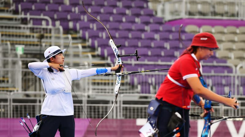 Archery - Women's Individual - Gold medal match