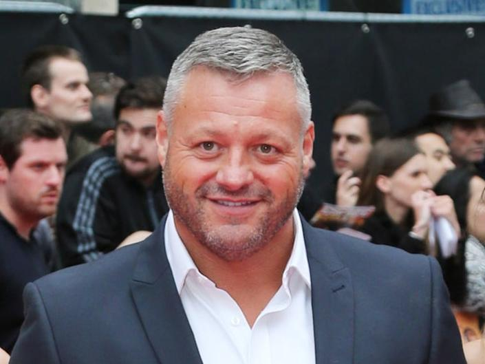 Mick Norcross attends 'The Expendables 2' premiere on 13 August 2012 in London, England (Chris Jackson/Getty Images)