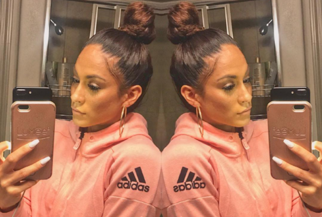 Bodybuilder Janice Garay looks like Jennifer Lopez's twin. (Photo: Instagram/Jayfromhouston)