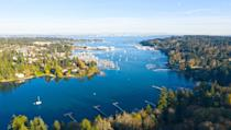 <p>Take a short ferry ride out of Seattle, and across Puget Sound you'll find this scenic community that has eclectic boutiques and an artsy vibe. You can also kayak or canoe around the island to get some amazing views of the local scenery. </p>