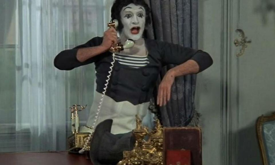 "<p>""Non!""<br><br>Mel Brooks' silent movie featured the famous mime artist who hilariously has the only line of dialogue in the movie. Nice touch, Mel. </p>"