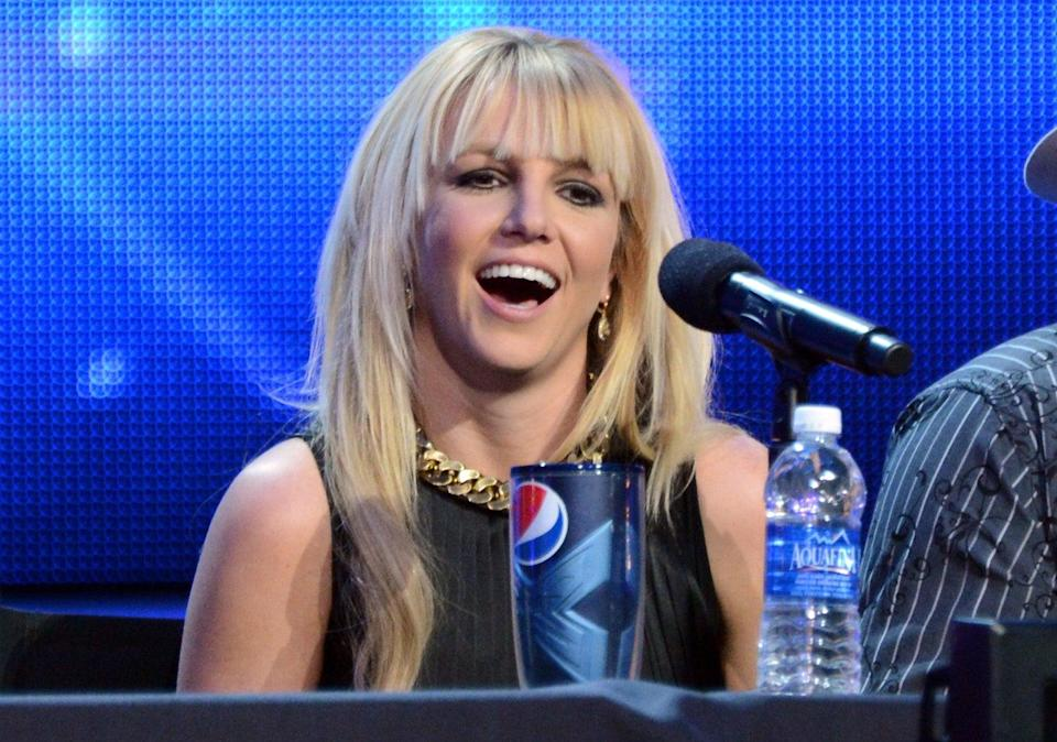 Spears during promotion for The X Factor in 2012 (Getty Images)