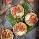 """<p>It doesn't all have to be comfort food and winter warmers. How about pepping up your meat-free dinners with <a rel=""""nofollow noopener"""" href=""""http://www.greatbritishchefs.com/recipes/goats-cheese-tart-recipe-fig-olive"""" target=""""_blank"""" data-ylk=""""slk:Geoffrey Smeddle's warm puff pastry tart with goat's cheese, figs, olives and capers"""" class=""""link rapid-noclick-resp"""">Geoffrey Smeddle's warm puff pastry tart with goat's cheese, figs, olives and capers</a>? [Photo: Getty] </p>"""