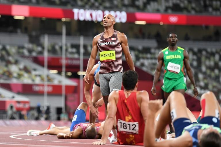 Damian Warner won the decathlon title at the age of 31