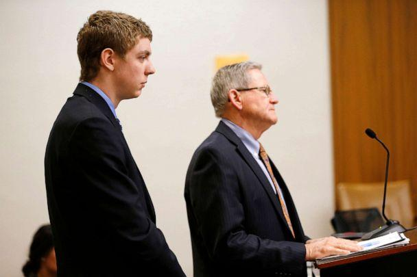 PHOTO: Brock Turner, 19, appears in the Palo Alto branch of Santa Clara County Superior Court court, March 30, 2015. (Gary Reyes/MediaNews Group/The Mercury News via Getty Images)