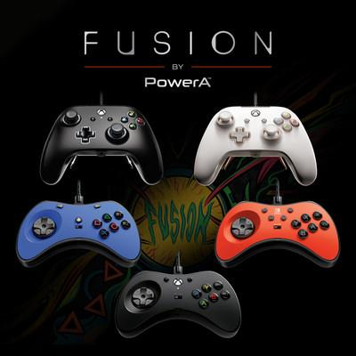 PowerA FUSION Pro Wired Controllers offer a next-level gaming experience.