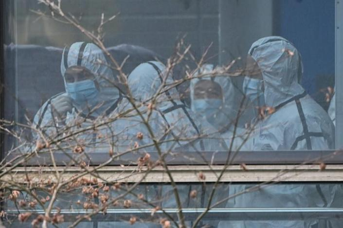 WHO inspectors are in China's Wuhan city to investigate the origins of Covid-19