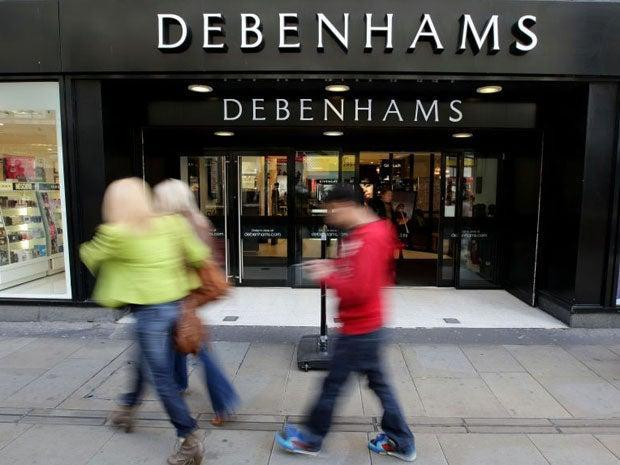 <p>Frasers says a cap on business rates relief made it 'nearly impossible' to take on Debenhams' former stores</p> (PA)