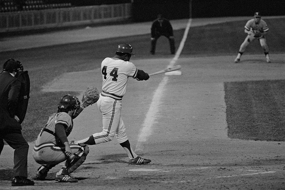 <p>Over 40 years ago, Hank Aaron hit his 715th home run, ending Babe Ruth's 39-year hold on the record. Aaron's record stood uncontested until Barry Bonds surpassed it in 2007.</p>