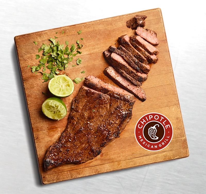Chipotle's new carne asada (Courtesy of Chipotle)