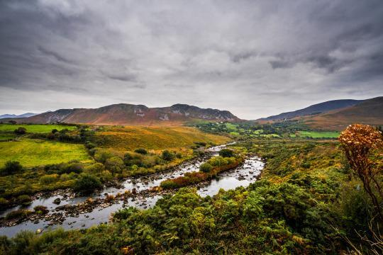 <p>The Ring of Kerry is a famously scenic 111-mile drive around the county's Iveragh Peninsula. <br></p>