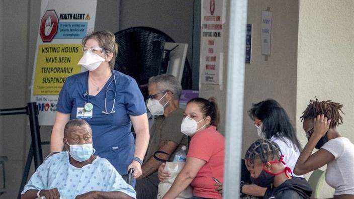 Intensive care units at many Florida hospitals are reaching capacity