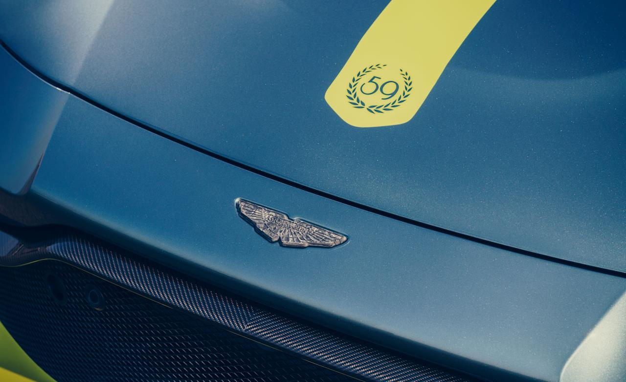 "<p>Last week, <a href=""https://www.caranddriver.com/news/a27287645/aston-martin-vantage-amr-confirmed-manual/"" target=""_blank"">we told you</a> that a new AMR version of <a href=""https://www.caranddriver.com/aston-martin/vantage"" target=""_blank"">the Aston Martin Vantage</a> will have a manual transmission and that it will be ""coming soon."" Well, it turns out that ""soon"" is already here. </p>"