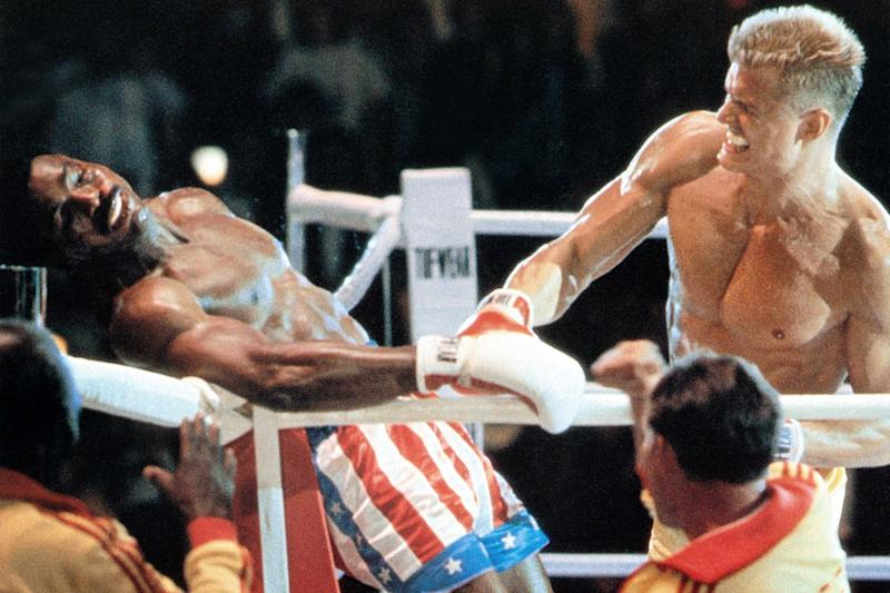 Rocky IV actorsDolph Lundgren and Carl Weathers reunite for a 'rematch'