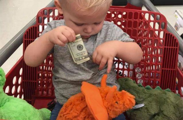 A Grieving Grandfather Handed Owen 20 Note In Target So He Could All Three