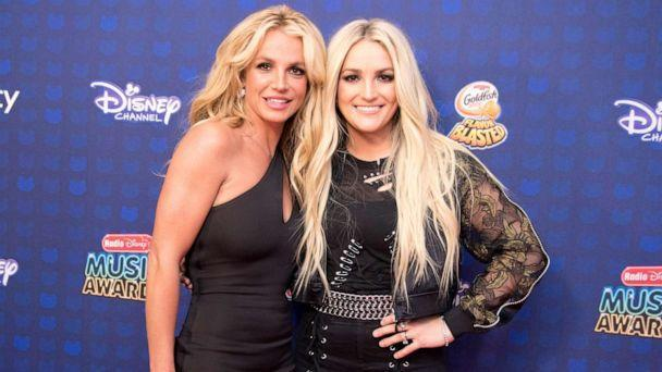 PHOTO: Britney Spears and Jamie Lynn Spears attend the 2017 Radio Disney Music Awards event at Microsoft Theater in Los Angeles, April 29, 2017.  (Image Group La/Walt Disney Television via Getty Images, FILE)