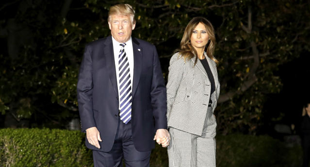First lady Melania Trump's last public appearance was on May 10, 2018. (Photo: Getty Images)