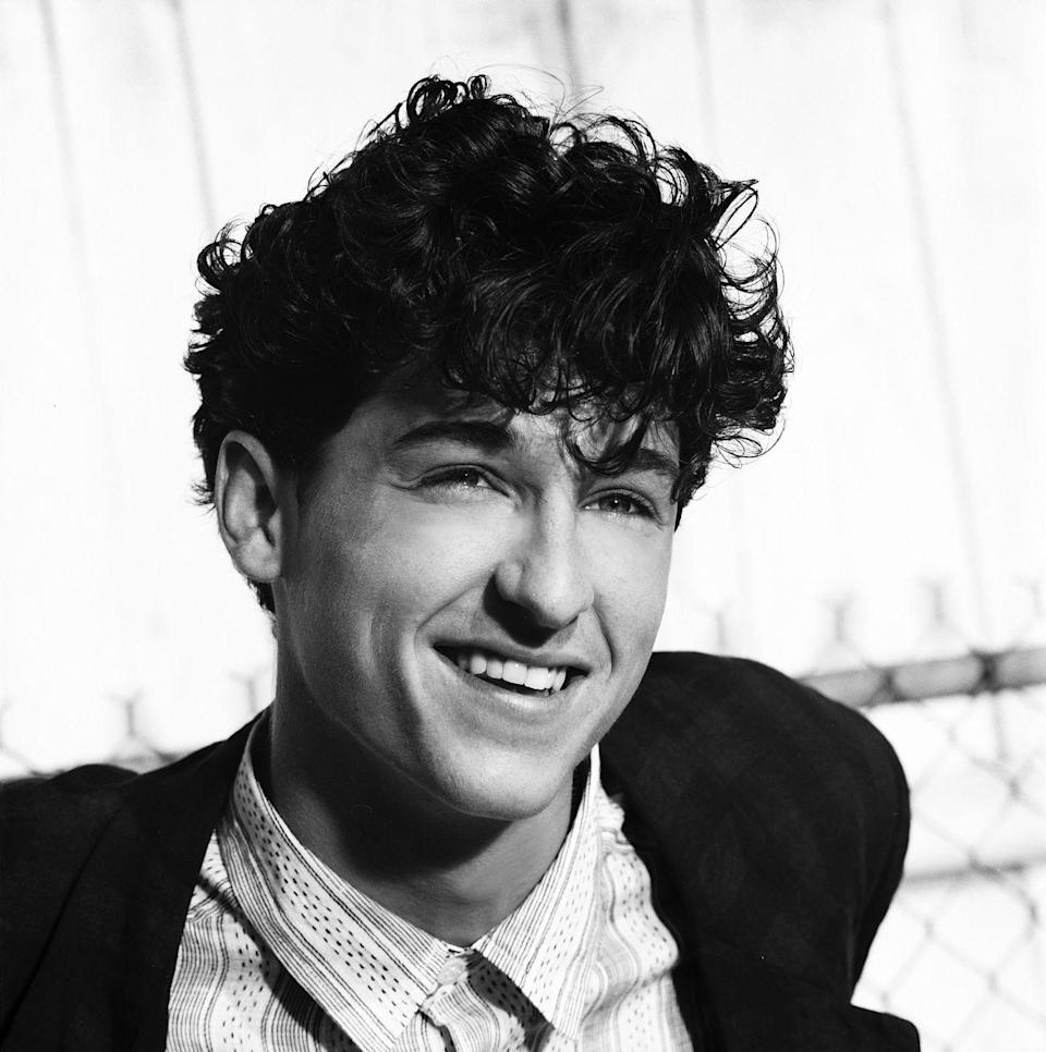 <p>Well, young Patrick Dempsey is an absolute icon, as this hair and outfit undoubtedly prove. Dempsey has always had a little fun with his outfits, like mixing patterns.</p>
