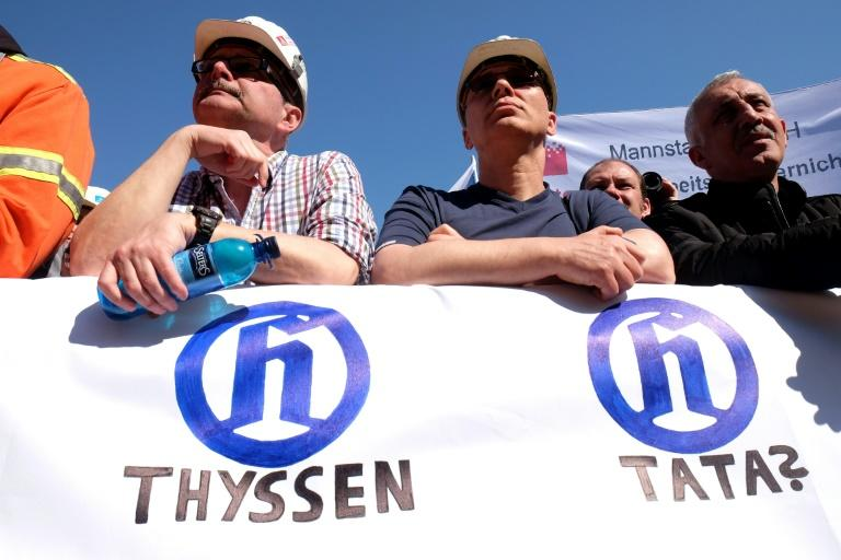 Trade unions at ThyssenKrupp and German officials have for months been fearing news of job losses