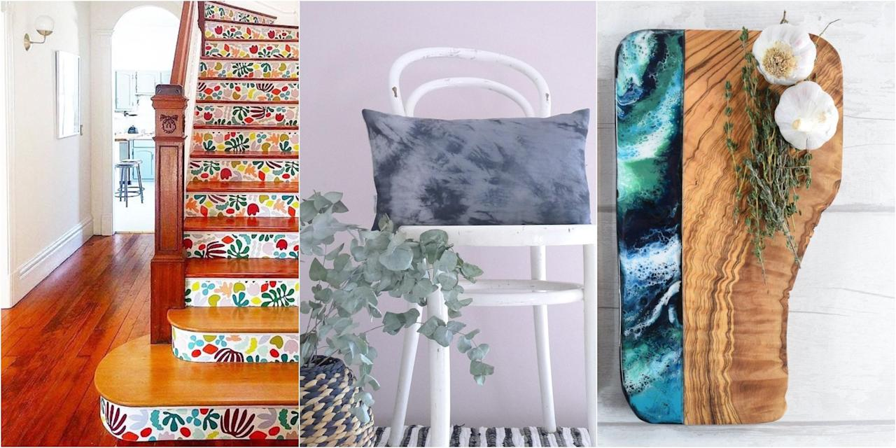 "<p><strong>From tie-dye to art deco to wallpaper stickers, <a href=""https://www.etsy.com/uk/?ref=lgo"" target=""_blank"">Etsy</a> has uncovered the hottest 2019 home decor trends in a new report based on search data and retail insights such as what sellers are creating, what shoppers are loving, and what's hot right now in the wider market.</strong></p><p>According to Etsy, 'Maximalism is taking hold in the form of standout fixtures, bold patterns, and vibrant colours'. Whether you're looking to shake up your space or completely revamp your home, find some inspiration from Etsy's 2019 home decor trends. </p>"