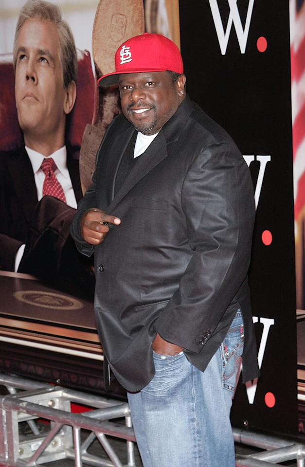 "<a href=""http://movies.yahoo.com/movie/contributor/1800314117"">Cedric the Entertainer</a> at the New York premiere of <a href=""http://movies.yahoo.com/movie/1810026489/info"">W.</a> - 10/14/2008"