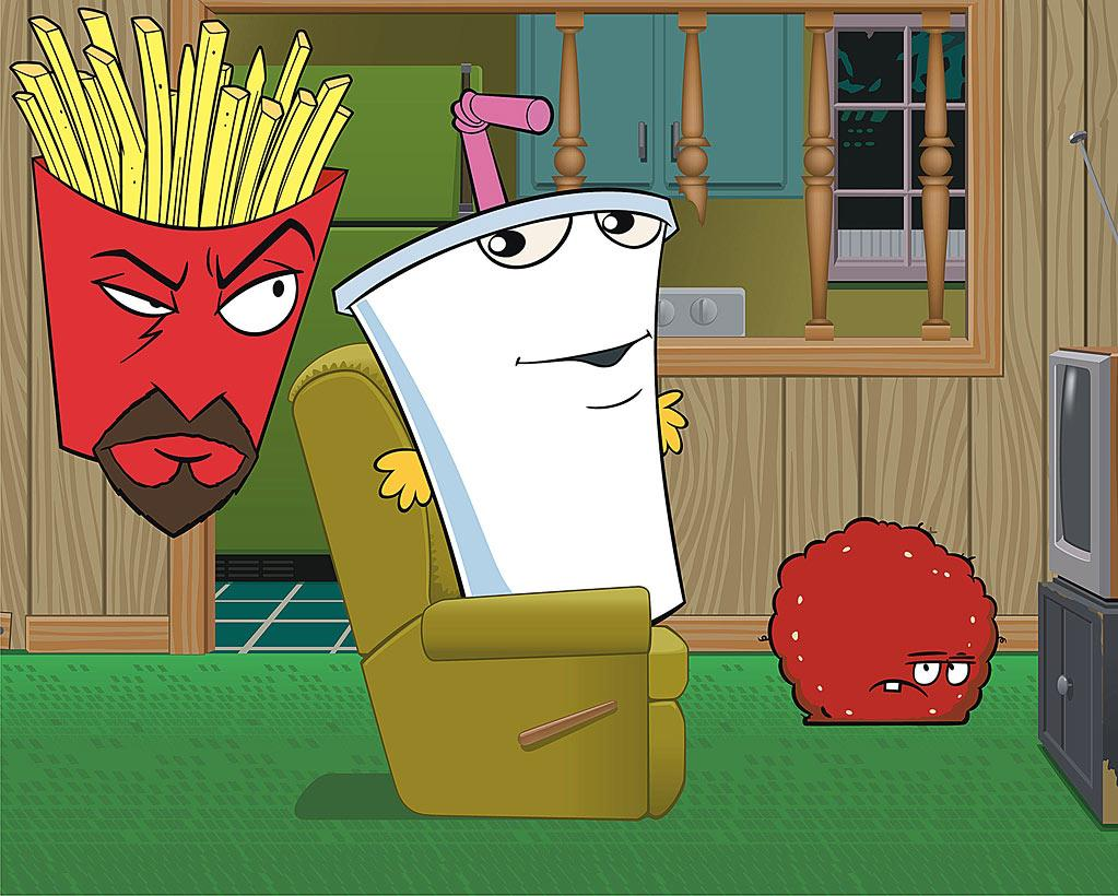 """<a href=""""http://movies.yahoo.com/movie/1809809725/info"""">Aqua Teen Hunger Force: The Movie</a> (2007): Most people probably hadn't heard of the animated series """"Aqua Teen Hunger Force,"""" which airs on Cartoon Network's late-night Adult Swim lineup, and provided the basis for this movie. It follows the intentionally Dadaist adventures of a wad of hamburger meat, a milkshake and a container of fries who share a rundown New Jersey tract house. The promotion included blinking, Lite-Brite-style renderings of alien characters known as the Mooninites, which were placed in major cities nationwide. In most places, no one thought twice about them. In Boston, they were viewed as a potential terrorist threat, forcing the closure of bridges and roadways. It might not have helped at the box office, where the movie made only about $5.5 million. But it got folks talking."""