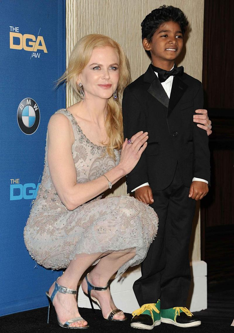 Nicole Kidman won the AACTA Award for Best Supporting Actress. She is pictured here with Sunny in February 2017. Source: Getty