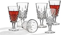 <p>These <span>Godinger Wine Glasses</span> ($31) make great party additions.</p>