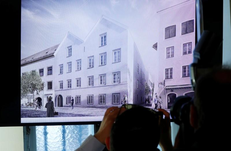 Austria presents redesign plan for house Hitler was born in, in Vienna