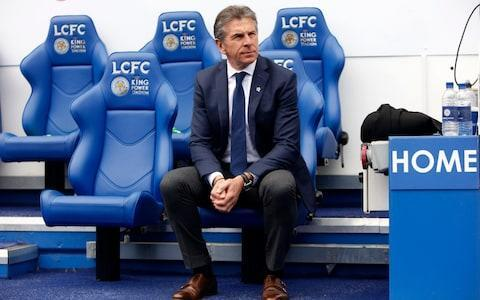 <span>Claude Puel and Leicester are sitting comfortably enough in the table</span> <span>Credit: LEICESTER CITY FC </span>
