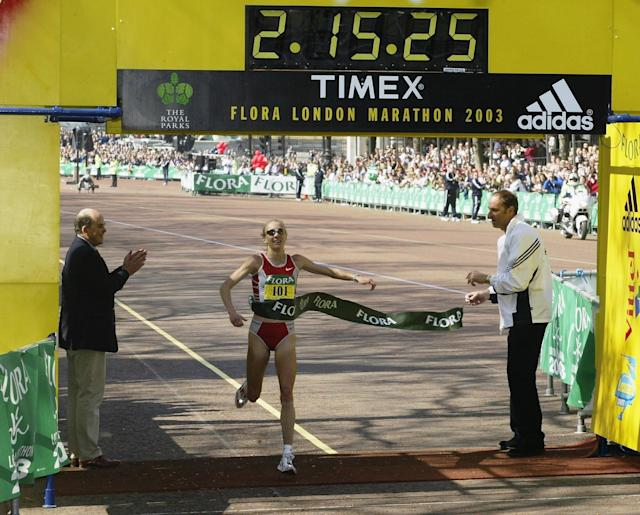 <p>Paula Radcliffe's two hours 15 minutes 25 seconds run at the 2003 London Marathon could be discounted. </p>