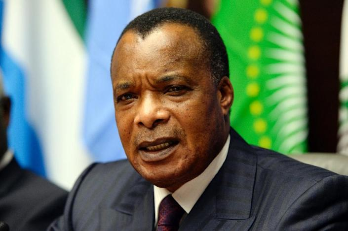 A controversial referendum in October 2015 allowed Congo-Brazzaville President Denis Sassou Nguesso to extend his 31-year rule (AFP Photo/Thierry Charlier)