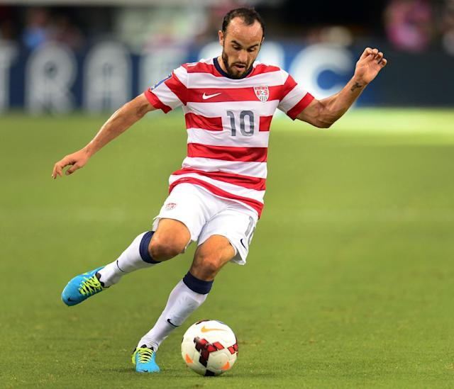 Landon Donovan of the US is pictured July 24, 2013 (AFP Photo/Frederic J. Brown )