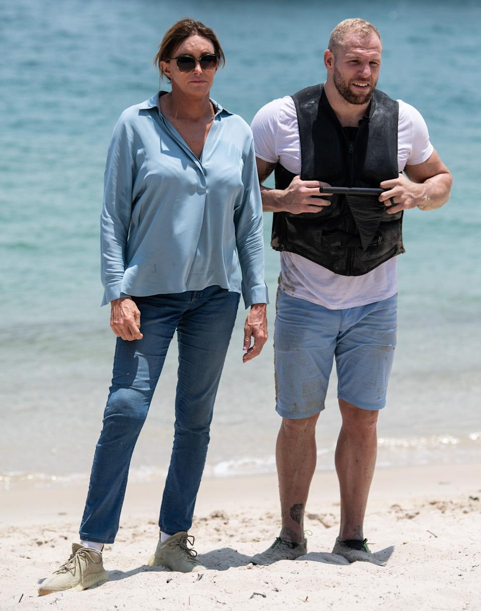 Caitlyn Jenner and James Haskell (Photo: James Gourley/ITV/Shutterstock)