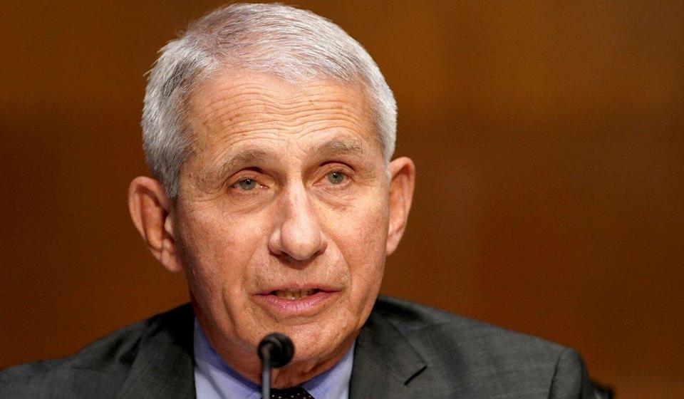 Anthony Fauci, director of the National Institute of Allergy and Infectious Diseases, says he's not convinced the coronavirus developed naturally. Photo: Reuters