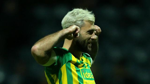 West Brom beat Preston North End 1-0 at Deepdale on Monday to record a fifth successive Championship win and climb back into top spot.