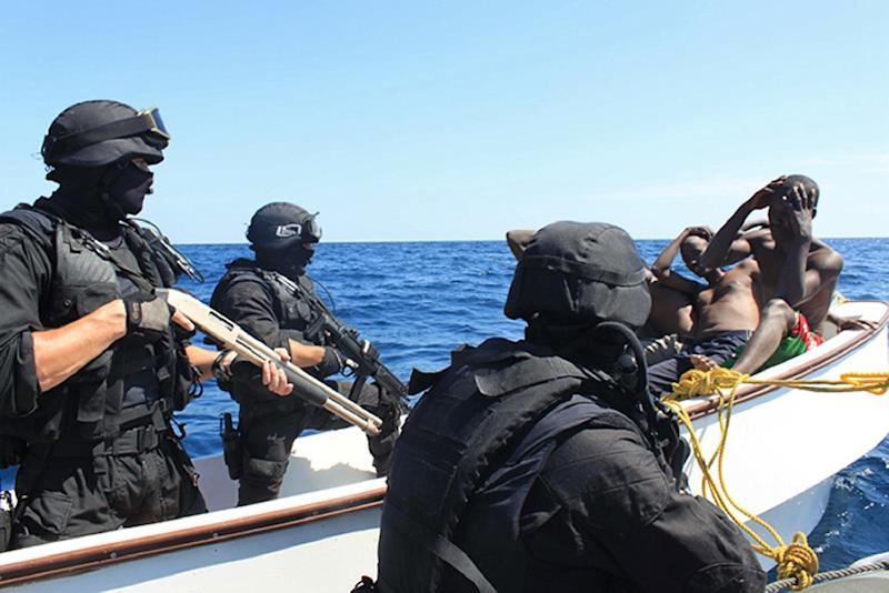 The European Union launched Operation Atalanta -- an anti-piracy mission to protect maritime vessels in the Horn of Africa -- in 2008 (AFP Photo/)