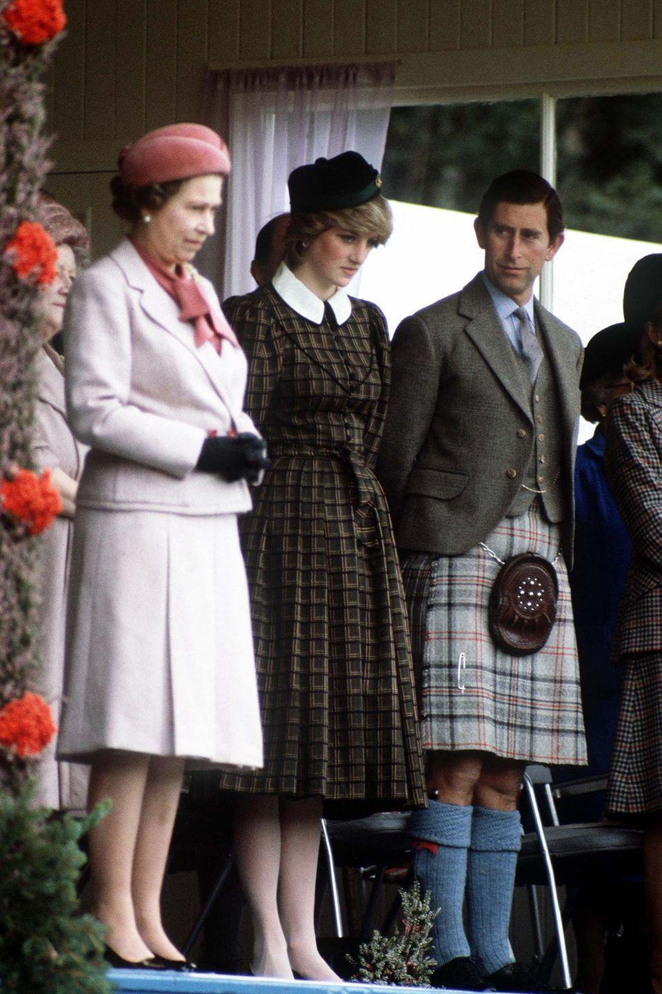 <p>The royal family even has their own Balmoral tartan, which was designed by Queen Victoria's husband in 1853. The gray, red, and black plaid can only be worn by the Queen and her personal piper, plus a few other members of the royal family (if the Queen gives her permission first!).</p>