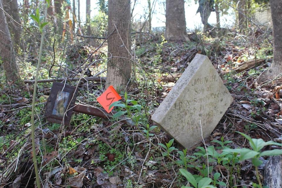 The markers found so far show in the cemetery the earliest grave was from 1908.