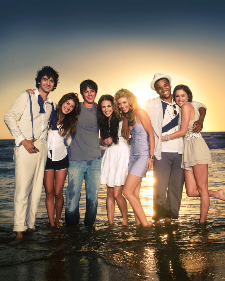 """<strong>9. """"<a href=""""http://tv.yahoo.com/90210/show/43006"""">90210</a>""""</strong><br><br> Now that this show has given up any pretense of school, it's just ridiculously preposterous. And we mean that in the best way possible. It's silly and forgets the plot from one week to the next and repeats itself endlessly, but it's also soapy and filled with attractive people doing dumb things. Sometimes we just need inane fluff in our lives, especially compared to something like """"<a href=""""http://tv.yahoo.com/ringer/show/47458"""">Ringer</a>,"""" which aims for serious and dark and fails quite often."""
