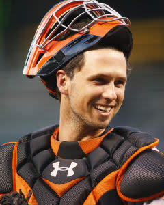 Mike Barner likes the look of a Giants stack, featuring catcher Buster Posey, against Antonio Senzatela and the Rockies at Coors Field on Tuesday.