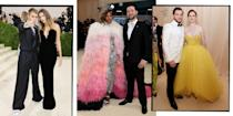 """<p>Loved up and looking good, these are the best dressed celebrity couples hitting the <a href=""""https://www.elle.com/uk/fashion/a39815/met-gala-everything-you-need-to-know/"""" rel=""""nofollow noopener"""" target=""""_blank"""" data-ylk=""""slk:Met Gala 2021"""" class=""""link rapid-noclick-resp"""">Met Gala 2021</a> red carpet.</p>"""