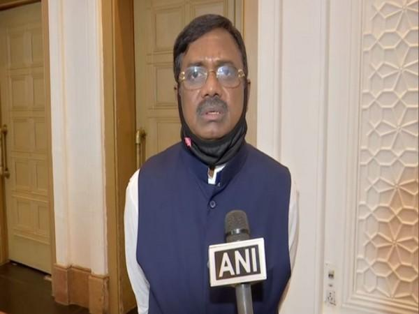 Telangana BJP leader G Vivekanand speaking to ANI in Hyderabad on Thursday.