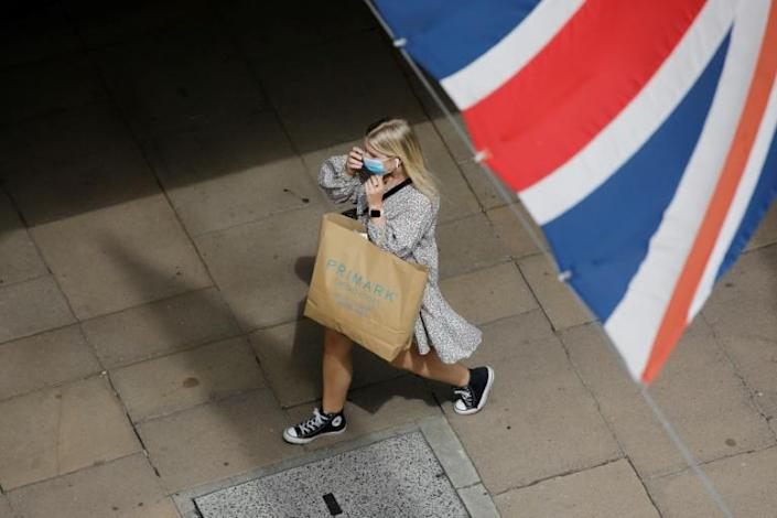 While shoppers have since returned to shops, lockdowns sent Britain's economic ouput crashing by just over a fifth in the April through June period