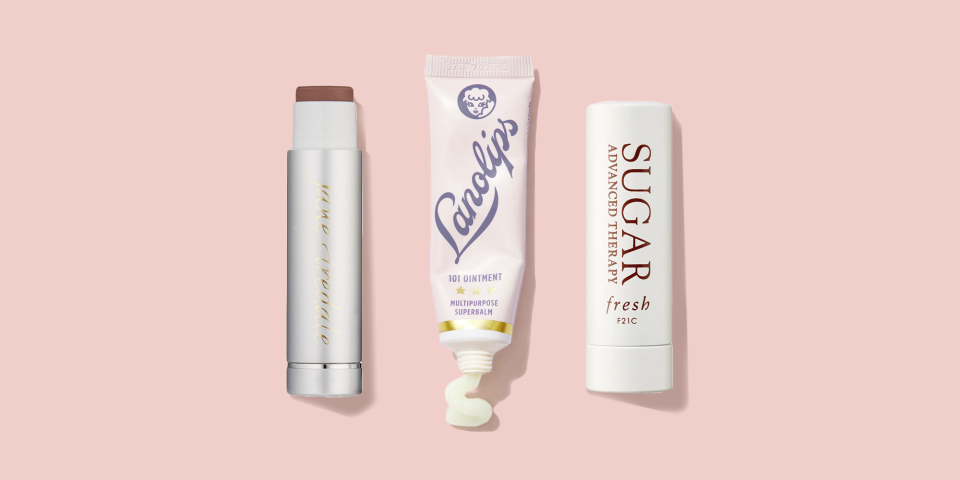 """<p>Your lips are unlike any other skin on your body. For starters, they don't produce the natural oils that keep the rest of your skin supple, and while the rest of your body has 15 to 16 protective layers, your mouth has only three to four, says GH Beauty Lab Director <a href=""""https://www.goodhousekeeping.com/author/12432/birnur-aral-ph-d/"""" rel=""""nofollow noopener"""" target=""""_blank"""" data-ylk=""""slk:Birnur Aral, PhD."""" class=""""link rapid-noclick-resp"""">Birnur Aral, PhD.</a> </p><p>""""Lips are primed to be chapped,"""" says<a href=""""http://www.drdendyengelman.com/"""" rel=""""nofollow noopener"""" target=""""_blank"""" data-ylk=""""slk:Dendy Engelman"""" class=""""link rapid-noclick-resp""""> Dendy Engelman</a>, MD, a board-certified dermatologist in Manhattan. """"They are in daily contact with saliva that contains alpha-amylase, a digestive enzyme that can break down skin, and are always exposed to the elements, so lips take a beating from the sun, the cold weather, wind <em>and</em> heat."""" Translation: They're especially prone to dryness, flaking, chapping and cracking. But the good news is that a great lip balm can help.</p><p>That's why the <a href=""""https://www.goodhousekeeping.com/institute/about-the-institute/a19748212/good-housekeeping-institute-product-reviews/"""" rel=""""nofollow noopener"""" target=""""_blank"""" data-ylk=""""slk:Good Housekeeping Institute"""" class=""""link rapid-noclick-resp"""">Good Housekeeping Institute</a> Beauty Lab <strong>tested 175 lip treatments from more than 70 brands: </strong>To find the best balms that help to replenish much-needed moisture and seal it in. """"A lip balm should be designed to deliver a film of moisturizers onto the delicate skin of the lips,"""" says Aral, with emollients to replenish lost moisture, and occlusives to prevent further moisture loss. """"Look for balms or formulations containing petroleum or beeswax to seal in moisture,"""" says Dr. Engelman, who recommends formulas with some combination of SPF 30 or greater, vitamin E, beeswax, hyaluronic acid and lanolin. <br></p><p>Hydr"""