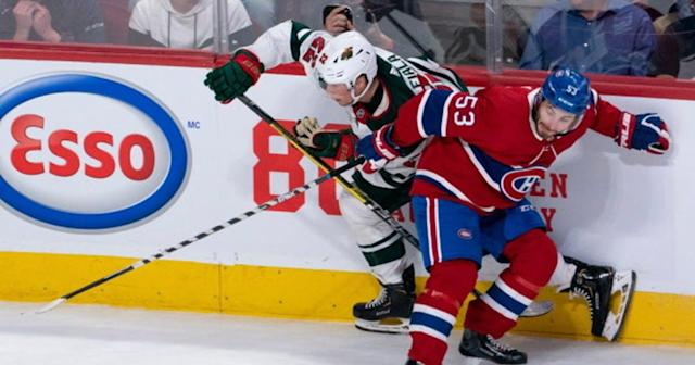 Wild returns home to host Canadiens in afternoon rematch