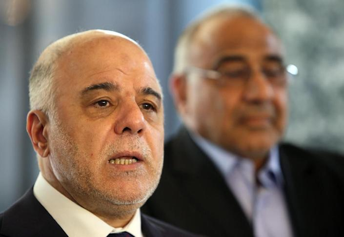 Iraqi Prime Minster Haidar al-Abadi rolled out a reform programme this month in response to popular pressure from weeks of protests against rampant corruption and abysmal services (AFP Photo/Ali al-Saadi)