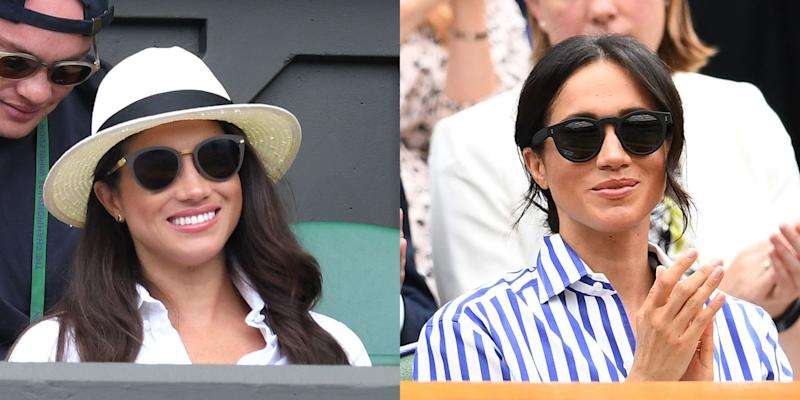 f39c4173600 Here s How Meghan Markle Dressed at Wimbledon Before and After ...