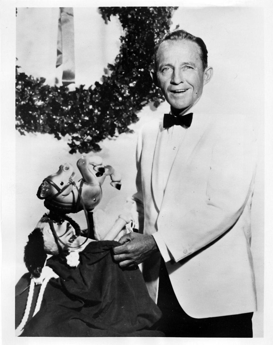 <p>After recording many classic holiday songs, Bing Crosby hosted a Christmas special in 1965, naturally.</p>